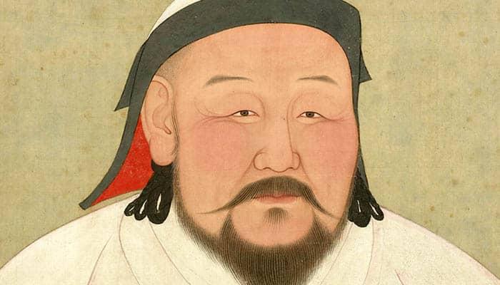 Retrato de Kublai Kan