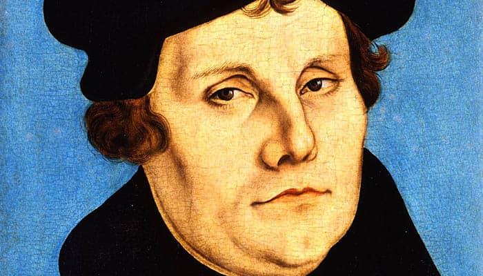 Retrato de Martín Lutero