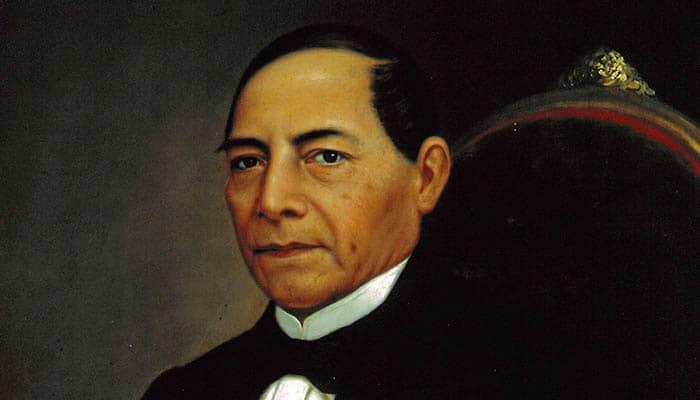 Retrato de Benito Juárez
