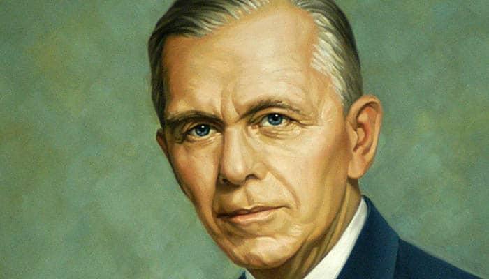 Retrato del secretario de Estado George C. Marshall