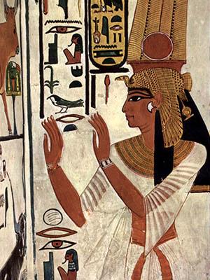 Pintura de Nefertiri