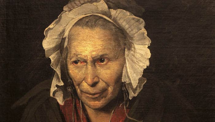 Mujer demente