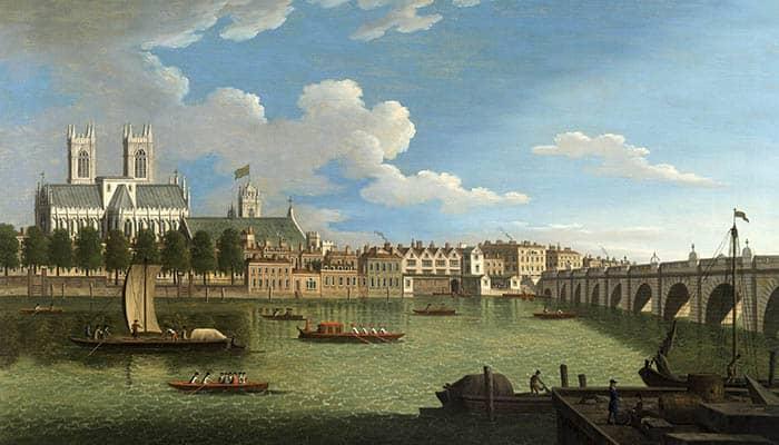 El Támesis en la Abadía de Westminster