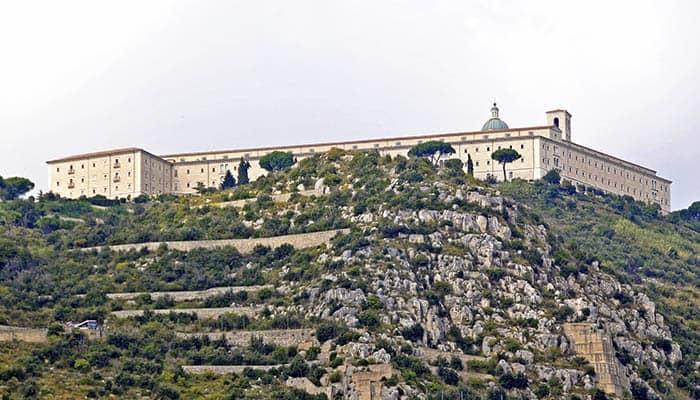 Fotografía de la Abadía de Montecasino