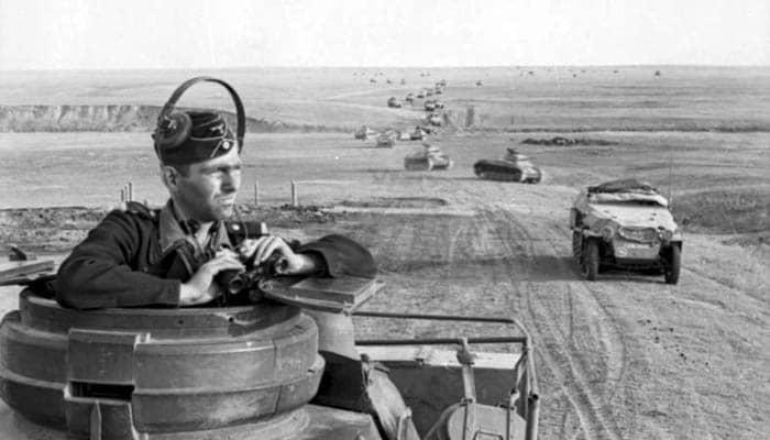 Tropas del Panzerwaffe avanzan hacia Stalingrado