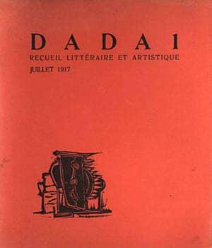 Portada de la primera edición de la publicación Dada