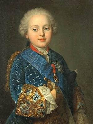 Retrato del futuro Luis XVI