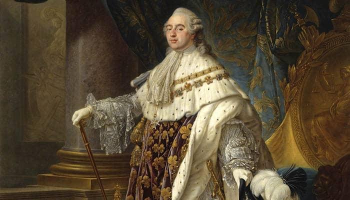 Retrato de Luis XVI de Francia