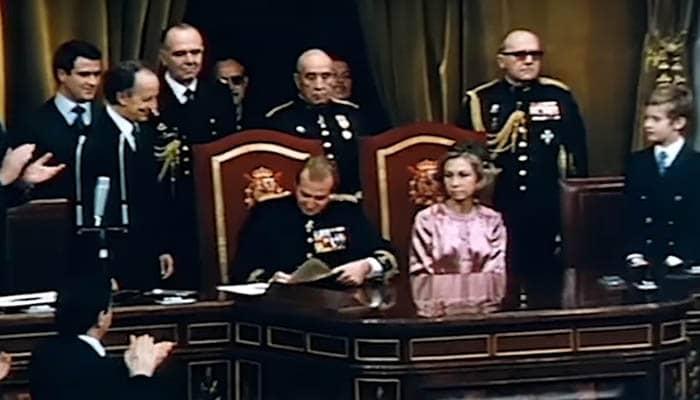 Sanción real de la Constitución de 1978