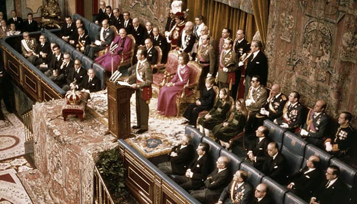 Proclamación de Juan Carlos I como rey de España