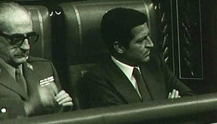Gutiérrez Mellado y Adolfo Suárez
